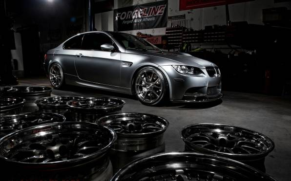 HD Wallpaper of bmw m3 e92 matte grey