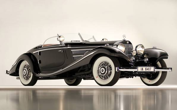 Обои Merсedes 1936 540K Special Roadster