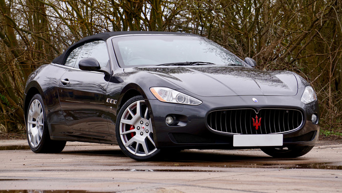 HD Wallpaper Auto, Side view, Sportcar, Maserati Gran Cabrio