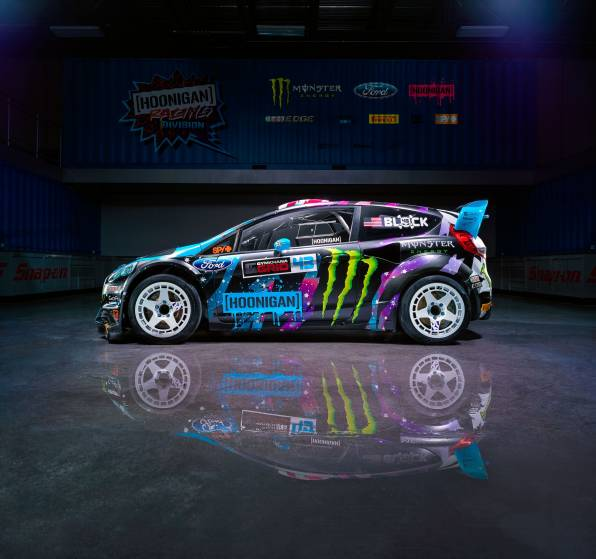 HD Wallpaper Ford Fiesta RX43 2015, Ken Block