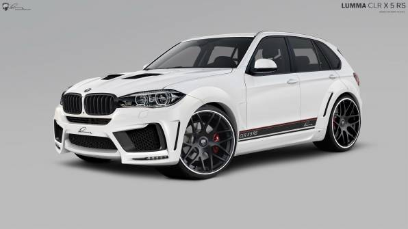 Обои BMW X5 CLR Lumma Design