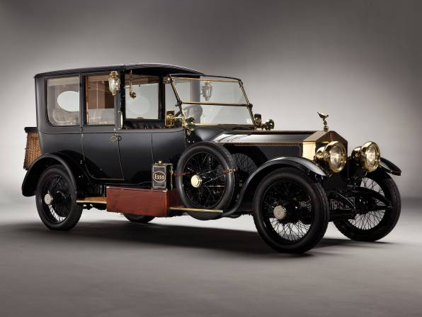 HD Wallpaper Rolls-royce Silver Ghost 1915