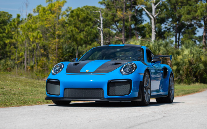 Wallpaper of Blue Car, Porsche 911, Porsche 911 GT2, Sport Car background & HD image
