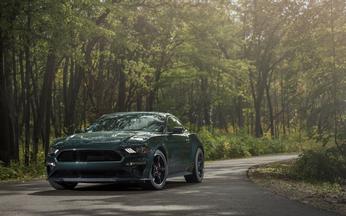 Wallpaper of Car, Ford Mustang Bullitt, Green Car, Muscle Car background & HD image