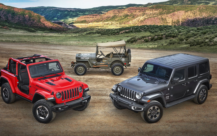 HD Wallpaper of Jeep Wrangler, SUV,  Cars, Generation