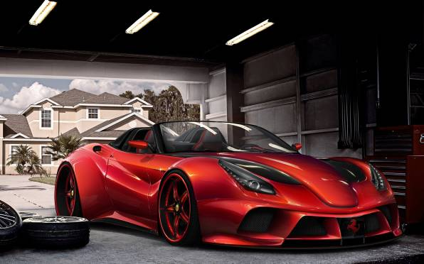 HD Wallpaper Ferrari F12 Berlinetta, Virtual Tuning