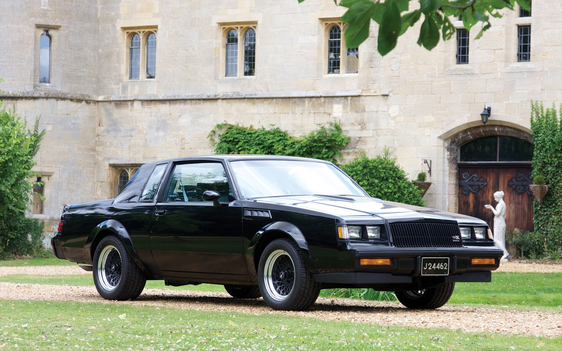 Wallpaper Of Buick Gnx Grand National 1987 Background Hd Image