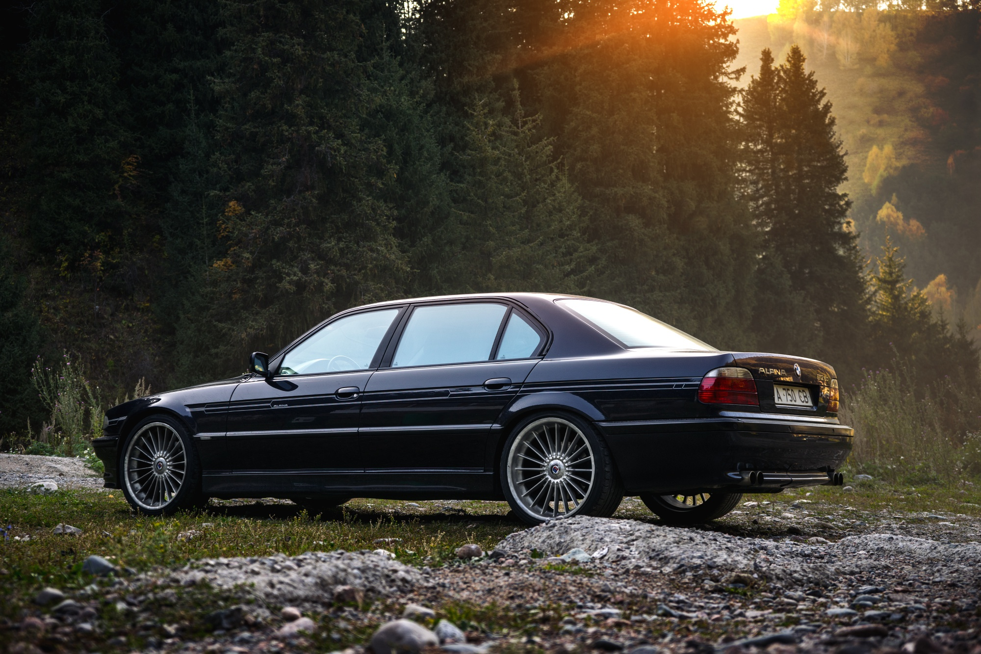 Wallpaper BMW 7 Series, BMW 750Li, Blue Car, Vehicle ...