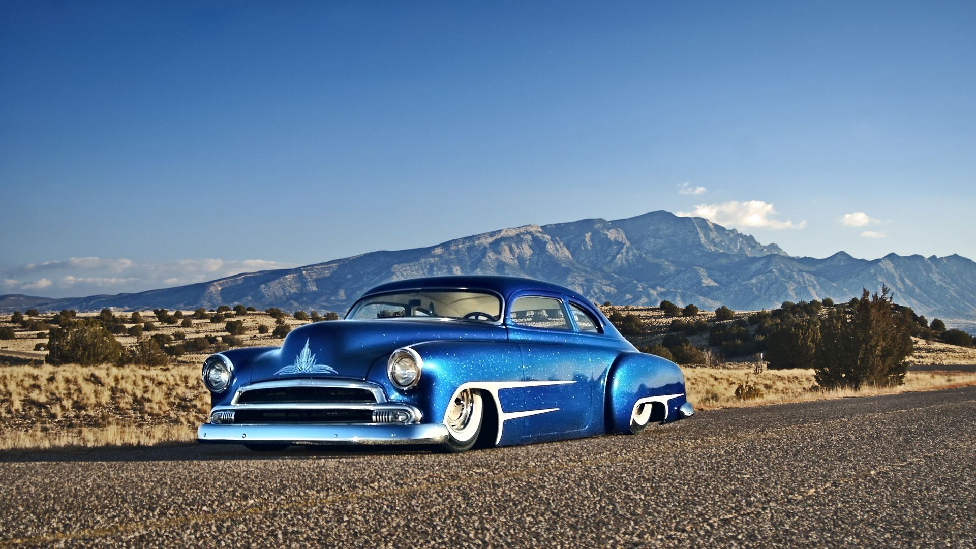 HD Wallpaper Chevy (chevrolet) classic car hot rod с посадкой