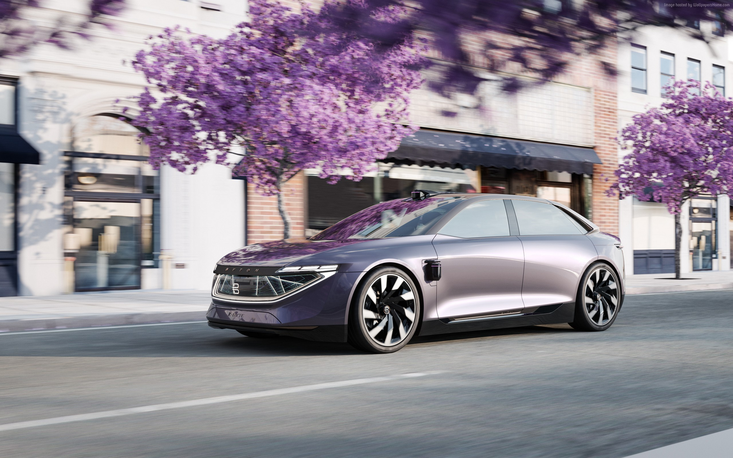 Wallpaper Of Byton K Byte Concept Electric Car 2018 Cars