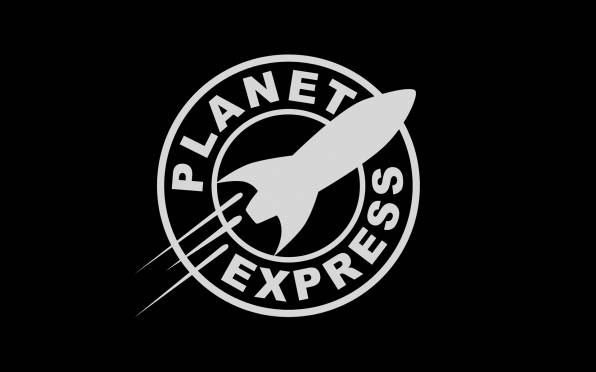 Обои futurama, planet express, logo