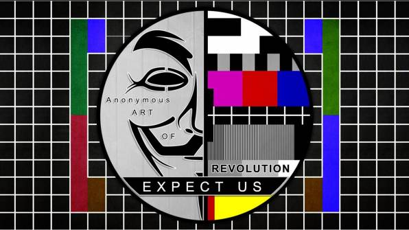 Обои Anonymous, Revolution Expect us