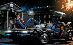 Preview wallpaper Movie, Back To The Future, Marty McFly