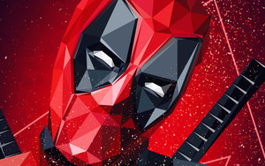 Preview wallpaper Art, Abstract, Deadpool, Marvel, Comics