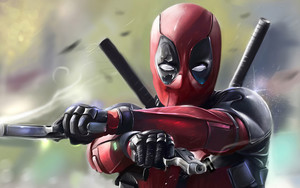 Preview wallpaper Art, Deadpool, Marvel Comics