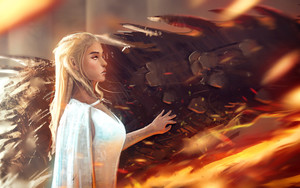 Preview wallpaper  <b>Blonde</b>, Daenerys Targaryen, Game Of Thrones