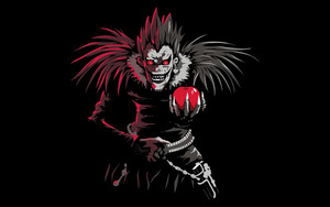 Preview wallpaper Art, Anime, Ryuk, Death Note