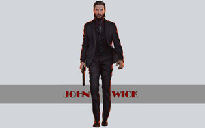 Preview wallpaper Art, Movie, John Wick