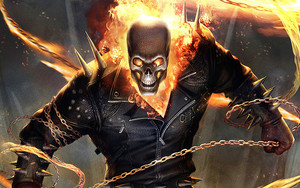 Preview wallpaper of Ghost Rider, Marvel Comics
