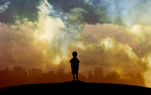 Preview wallpaper of Child, Art, Planet