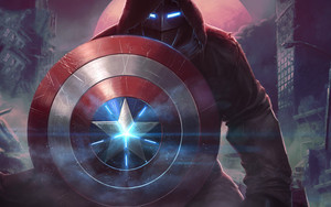Preview wallpaper of Captain America, MARVEL, Contest of Champions