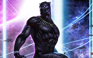Preview wallpaper of Black Panther, Marvel Comics