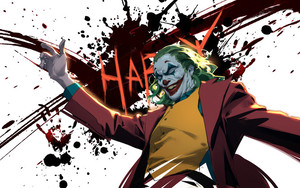 Preview wallpaper Art, Fan Art, Joker, Movie