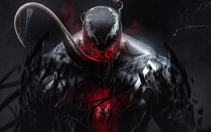 Preview wallpaper Art, Marvel, Comics, Venom