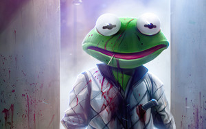 Preview wallpaper Drive, Movie, Frog Kermit the Frog