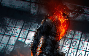 Preview wallpaper Art, Ghost Rider, Marvel, Comics