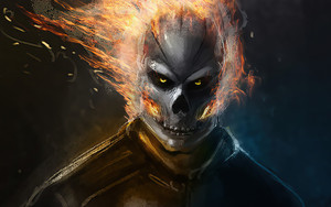 Preview wallpaper Ghost Rider, Marvel, Comics