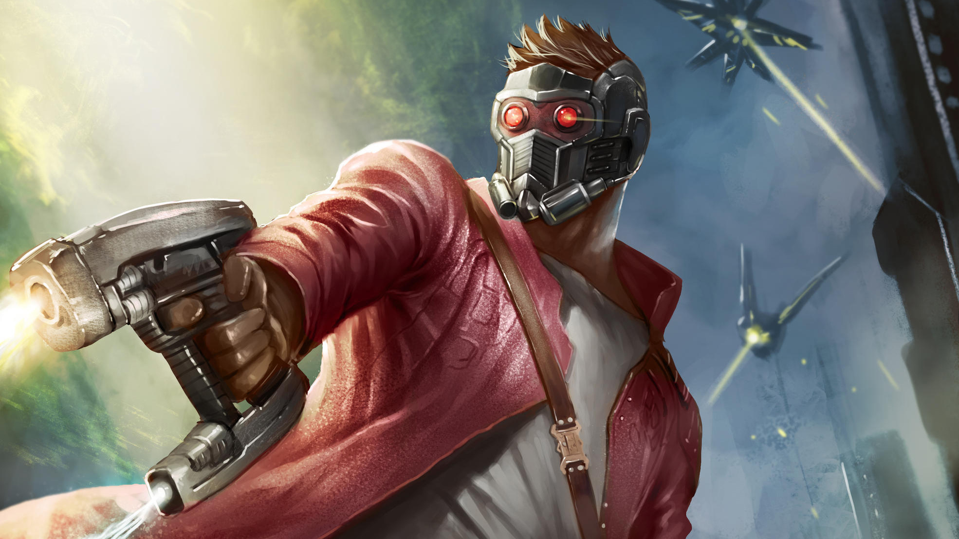 Wallpaper Of Guardians Of The Galaxy Marvel Comics Star Lord