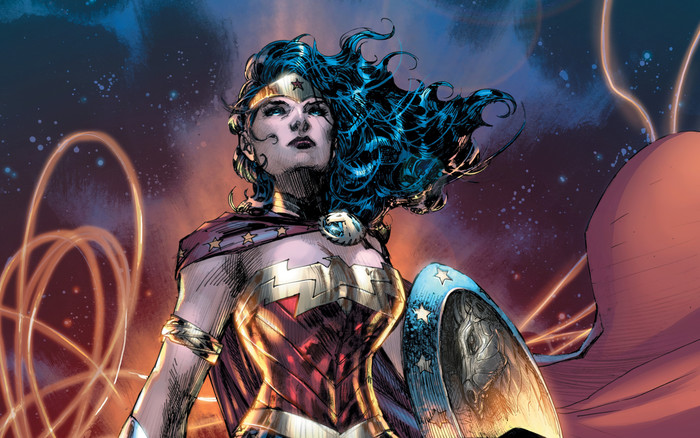 HD Wallpaper Art, DC Comics, Wonder Woman