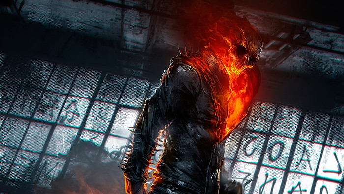 Wallpaper of Art, Ghost Rider, Marvel, Comics background & HD image