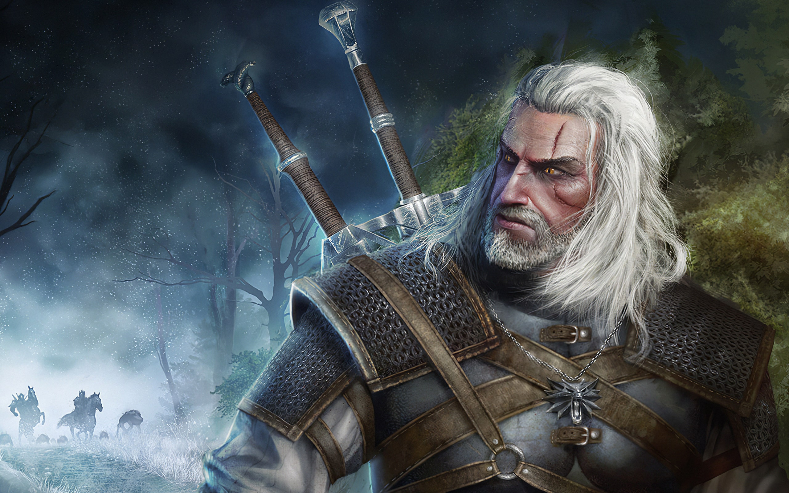 Wallpaper Of Geralt Of Rivia The Witcher 3 Wild Hunt Background