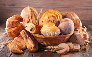 Preview wallpaper of Baking, Bread, Still, Life, Viennoiserie