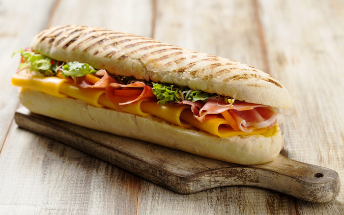 HD Wallpaper Food, Sandwich, Cheese, Ham