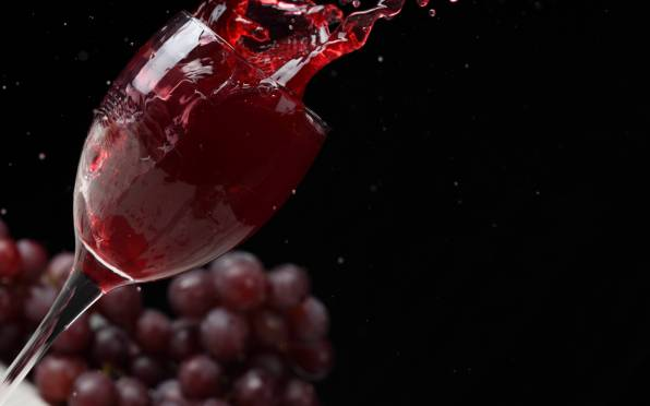 HD Wallpaper Serving Glass, Red wine, Split