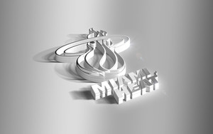 Preview wallpaper of 3D, Basketball, Logo, Miami Heat, NBA