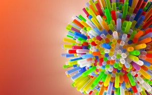 Preview wallpaper tubes, colorful, 3d
